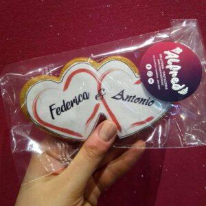 biscotto personalizzato san valentino