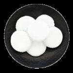 macaron bianco