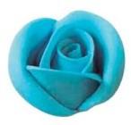 rosa di zucchero azzurra