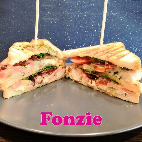 Fonzie club sandwich Alfred Rho