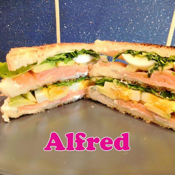 alfred club sandwich
