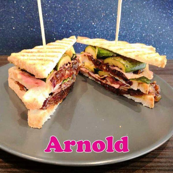 arnold club sandwich Alfred Rho
