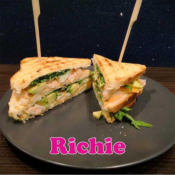 richie club sandwich Alfred Rho